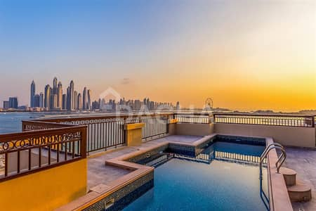 5 Bedroom Penthouse for Sale in Palm Jumeirah, Dubai - Deluxe Penthouse // 11