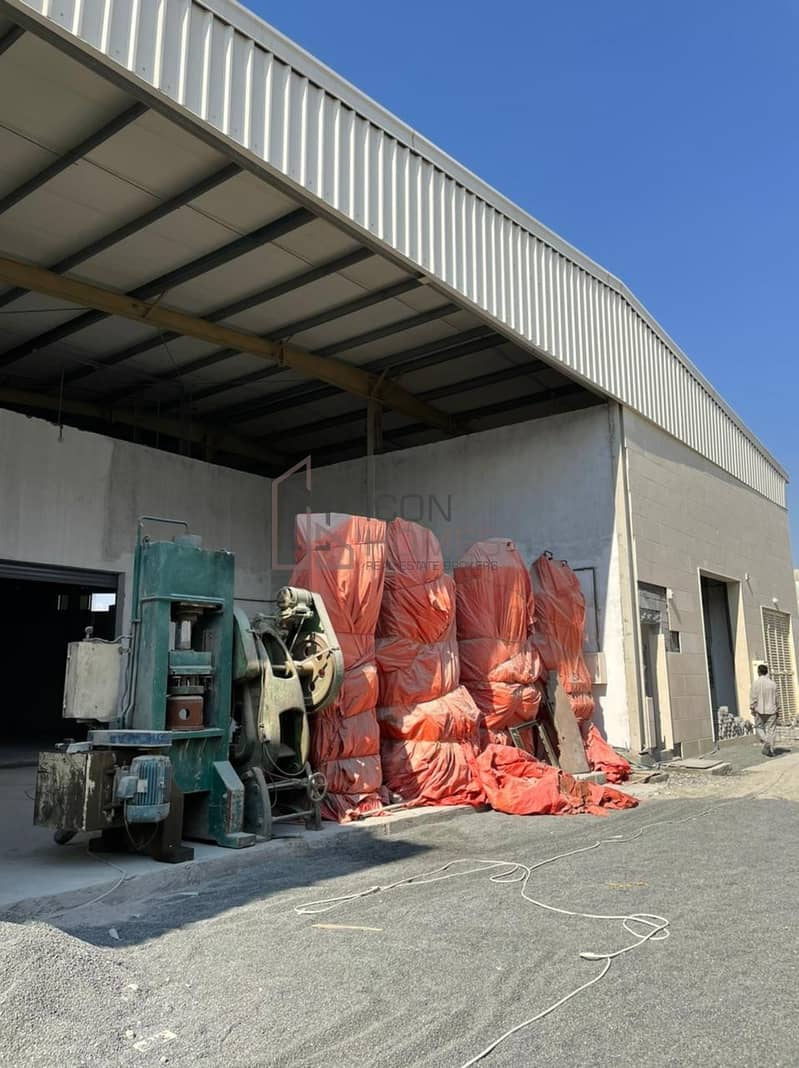 27 BRAND NEW FACTORY + 0N-SITE LABOUR CAMP TO LET in AL SAJAA