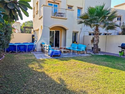 2 Bedroom Villa for Rent in The Springs, Dubai - 2 BR End Unit Vacant In March