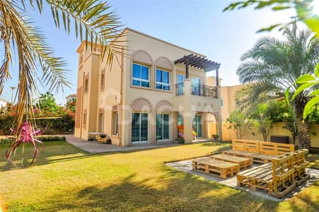 2 Bedroom Villa for Sale in Jumeirah Village Triangle (JVT), Dubai - EXCLUSIVE! / Rented 2Br + M / Large Plot
