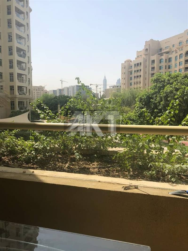 20 80 K / Garden View / Full Furnished / Pam Jumeirah