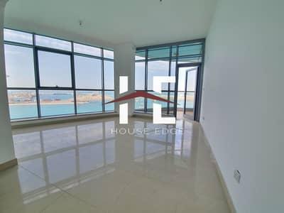 شقة 2 غرفة نوم للايجار في جزيرة الريم، أبوظبي - Breathtaking Sea View 2 BHK + Parking.
