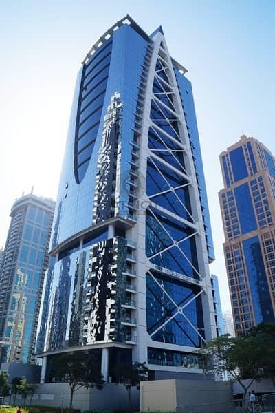 مکتب  للبيع في أبراج بحيرات الجميرا، دبي - Fitted Office   Glass Partitions   Lake View  Parking  Near DMCC Metro