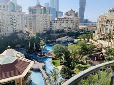 فلیٹ 3 غرف نوم للايجار في مركز دبي المالي العالمي، دبي - Great Offer!! Limited Offers! 3 Br Duplex maid Apartment for Rent in Al Murooj complex I No Commission & two months F