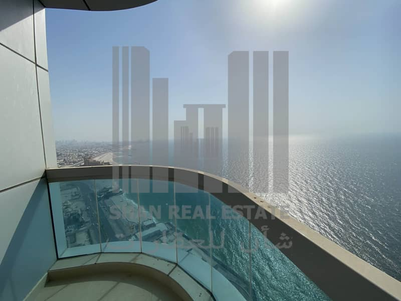 Full Sea 2 Bedroom Corniche Tower