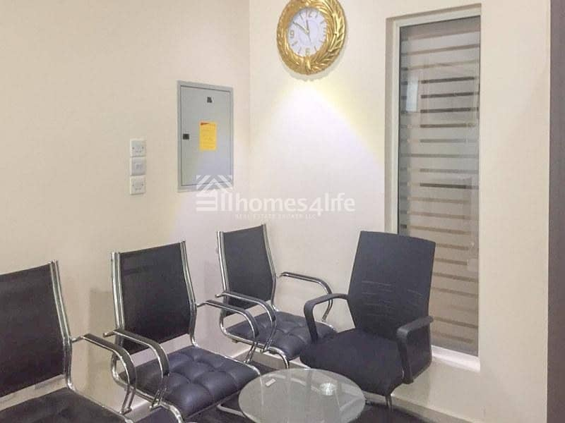 Fully furnished office for rent in Al Twar area