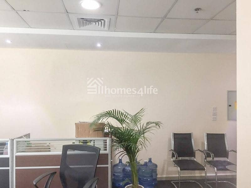 2 Fully furnished office for rent in Al Twar area