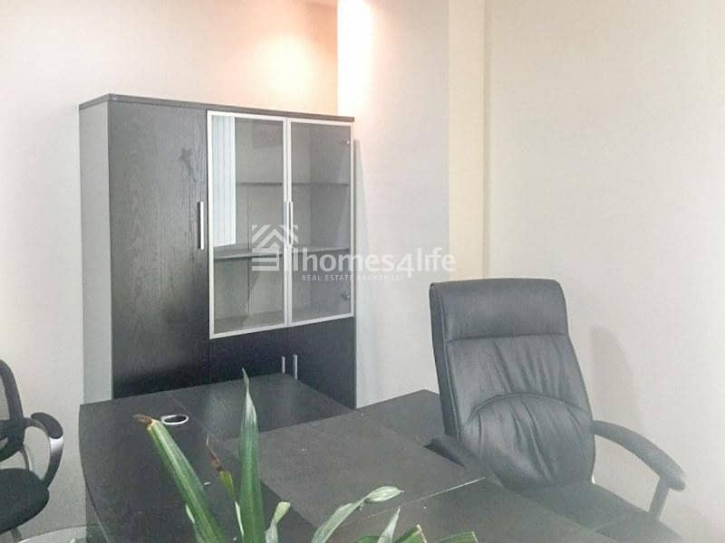 9 Fully furnished office for rent in Al Twar area