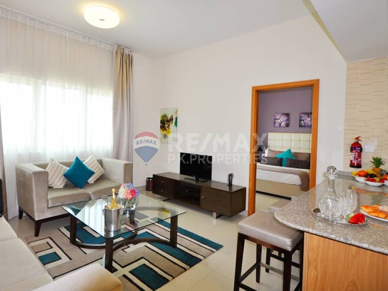 Vacant | Furnished 1 Bed | 2 mins Metro | Suburbia