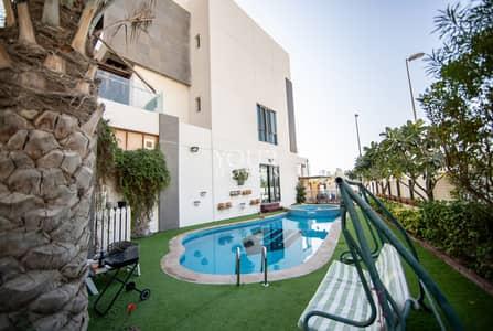 4 Bedroom Townhouse for Sale in Jumeirah Village Circle (JVC), Dubai - UK | Corner Unit | Park View  | Maidroom+Huge Garden