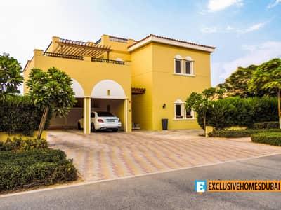 فیلا 6 غرف نوم للبيع في ذا فيلا، دبي - فیلا في ذا فيلا - هاسيندا ذا فيلا 6 غرف 4899999 درهم - 4964789