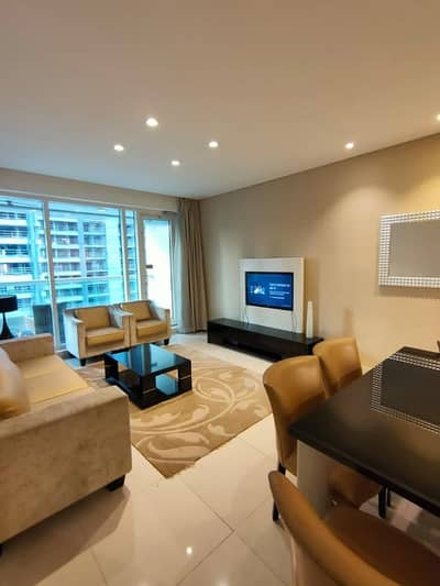 3 Bedroom Flat for Rent in Business Bay, Dubai - Damac Views - Canal Views - 3 B/R + Maids Room Fully Furnished Luxury Apartment 110-k only