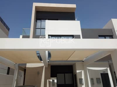 5 Bedroom Townhouse for Rent in Al Salam Street, Abu Dhabi - Stylish 5BR TH with Maid Room and Landscape Garden