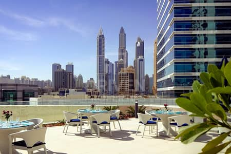 2 Bedroom Apartment for Rent in Dubai Media City, Dubai - All Bills Included Furnished | Sea Views