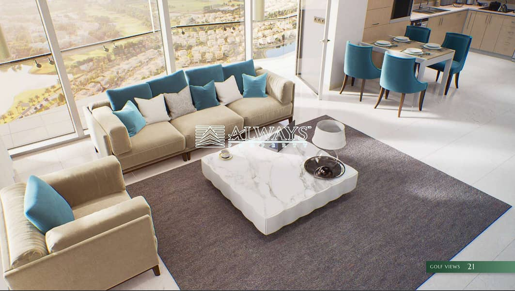 Fully Furnished || Stunning View || Payment Plan |