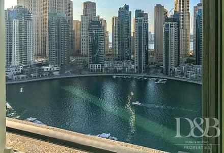 فلیٹ 1 غرفة نوم للايجار في دبي مارينا، دبي - Available End of October | Full Marina View
