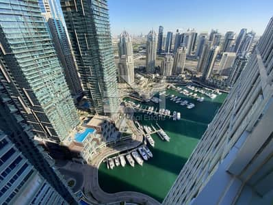 2 Bedroom Flat for Rent in Dubai Marina, Dubai - High Floor | Spacious Two Bedroom |Fully Furnished