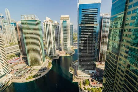 Office for Sale in Jumeirah Lake Towers (JLT), Dubai - Fully Fitted Office | Close to Metro Station | 10 parking