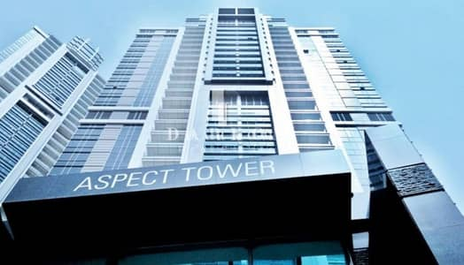 Office for Rent in Business Bay, Dubai - ASPECT TOWER | Fully Fitted | High Floor | 3 Parking | Near Metro