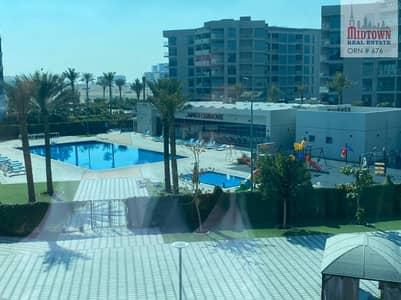 شقة 1 غرفة نوم للايجار في دبي الجنوب، دبي - 1 Bedroom | Unfurnished | Pool View