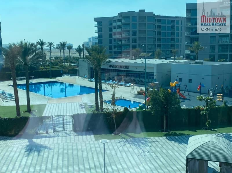1 Bedroom   Unfurnished   Pool View