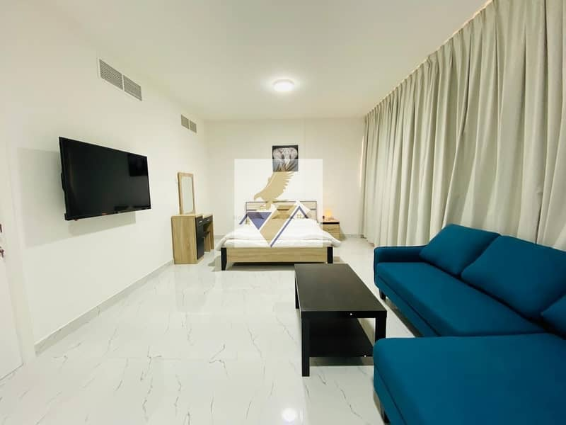 2 Furnished and Brand New Studio Apartment Including Electricity Water & Wifi Near Corniche 4500