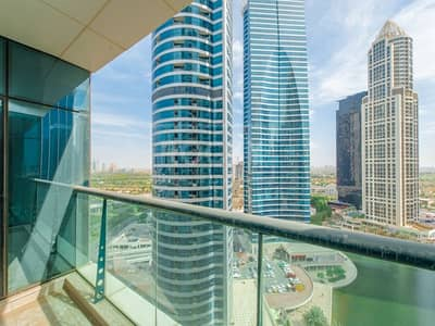 2 Bedroom Apartment for Rent in Jumeirah Lake Towers (JLT), Dubai - 2-Bed | Lake and Golf Course View | Tamweel