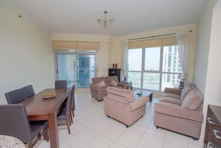 1 Bedroom Flat for Rent in Dubai Marina, Dubai - Spacious 1BR || Vacant || Furnished | Chiller Free