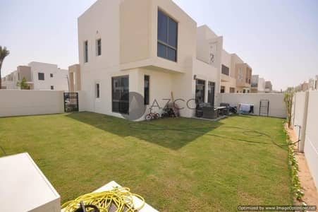 4 Bedroom Townhouse for Rent in Town Square, Dubai - 4BR TOWMHOUSE | HUGE PLOT | LANSCAPED GARDEN