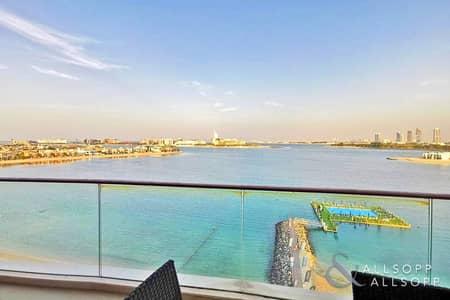 فلیٹ 3 غرف نوم للبيع في نخلة جميرا، دبي - Full Sea View | Vacant | A Must View Unit