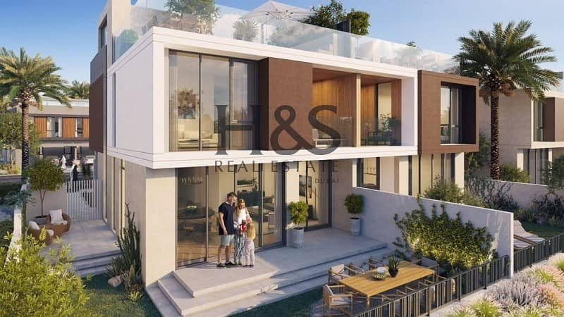 9 Modern Design Villa I 4 Beds + Maid I Ready by Q3 2021