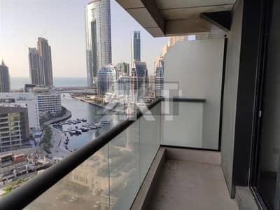 Studio for Rent in Dubai Marina, Dubai - 27 K / Escan Marina Tower / Studio / Marina View / Dubai Marina