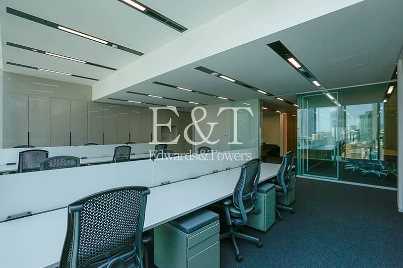 2 Prestigious Prime Fitted Furnished Office