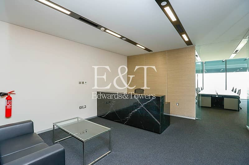 DIFC   Prestigious Prime Fitted Furnished Office