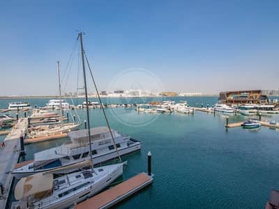 3 Bedroom Apartment for Sale in Al Raha Beach, Abu Dhabi - Amazing Direct Water Marina View Spacious Interior