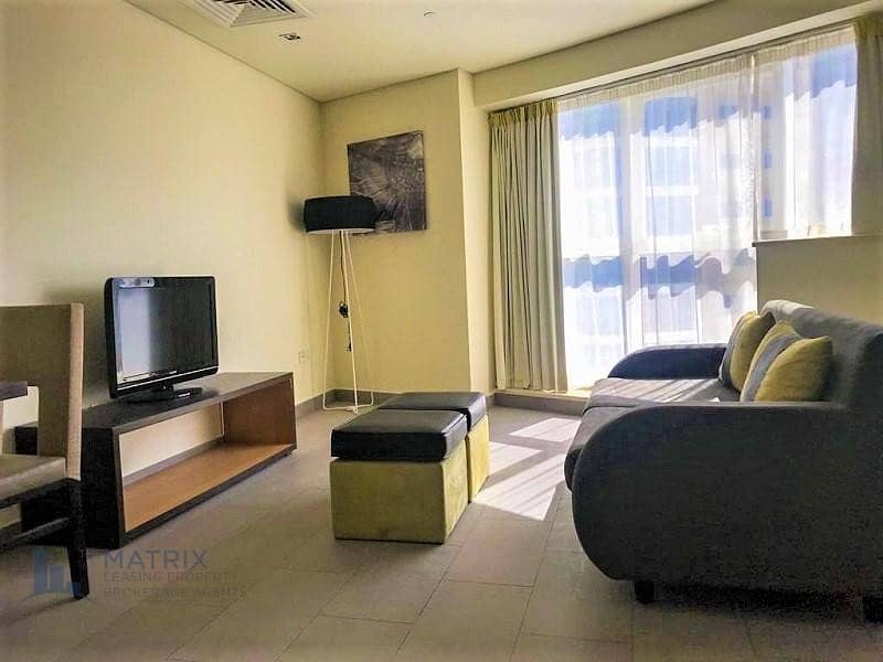 2 Cozy  Furnished 1 Bedroom  in the The Bridge Tower, Sports City