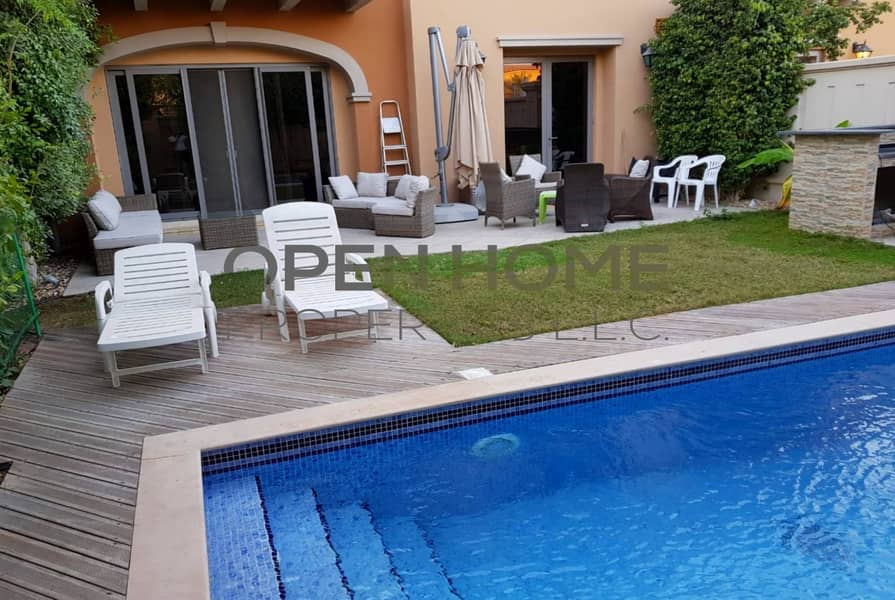 2 Excellence Luxurious  4 BR Quadplex Town House with private pool