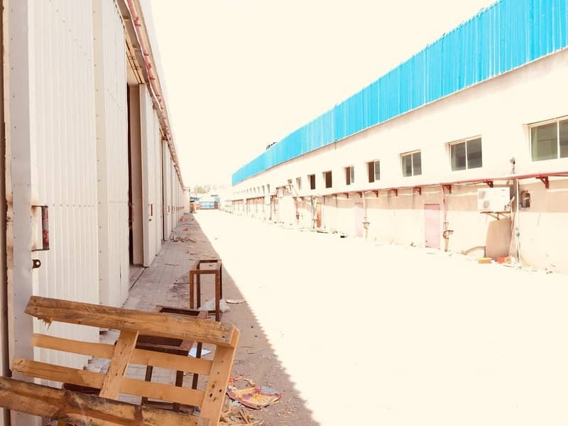 2 WAREHOUSE FOR RENT 55K 2 CHQS AL QUOZ WELL INTERIOR FIT OUTS.