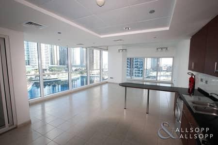 فلیٹ 1 غرفة نوم للايجار في أبراج بحيرات الجميرا، دبي - Vacant Now | Large 1 Bed | Lake Views