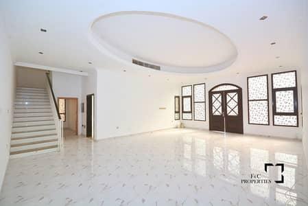 5 Bedroom Villa for Rent in Al Barsha, Dubai - Spacious 5 BR+Maids Room | Large Swimming Pool