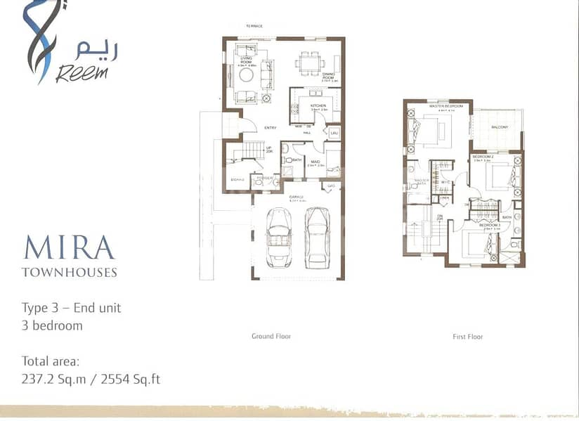 10 3 Bed   End Unit   Available March 2021