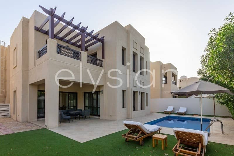 2 Furnished Villa|Golf Course Views | Vacant Jan
