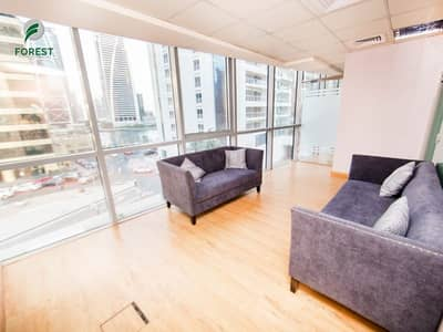 Office for Sale in Jumeirah Lake Towers (JLT), Dubai - Corner Unit | Spacious Office |Excellent ROI