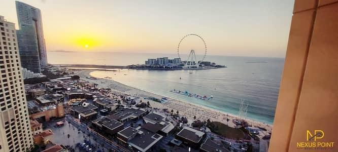 شقة 2 غرفة نوم للايجار في جميرا بيتش ريزيدنس، دبي - 2 Bed | Sea & Panoramic View | The Beach