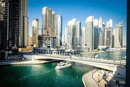 فلیٹ 1 غرفة نوم للبيع في دبي مارينا، دبي - Full Marina Views | Spacious 1 Bedroom | Vacant