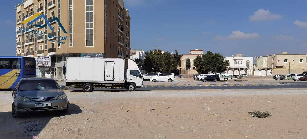 Residential and commercial land for sale in Al Mowaihat with a great location