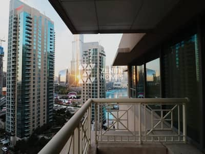 2 Bedroom Apartment for Rent in Downtown Dubai, Dubai - Burj & Fountain View | Available Now | Stunning 2 BHK
