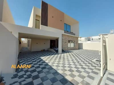فیلا 5 غرف نوم للبيع في الحليو، عجمان - فيلا جديدة تصميم أوربي حديث جنب مسجد