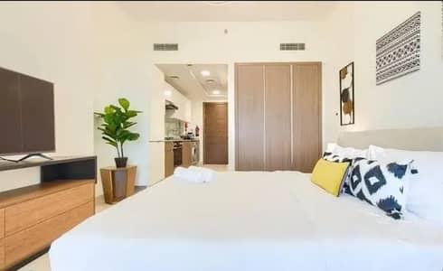Studio for Rent in Bur Dubai, Dubai - STUDIO || CHILLER FREE | LAKE VIEW || 35K AL JADDAF