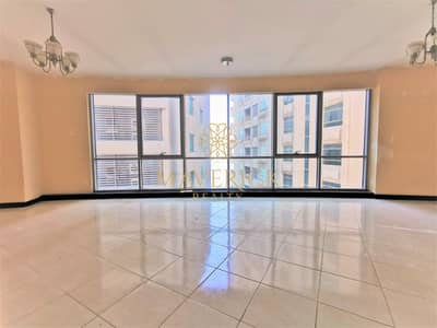 3 Bedroom Flat for Rent in Corniche Al Buhaira, Sharjah - AC Free | Huge 3BHK | All Master+Maids/R